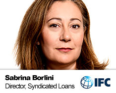 Sabrina Borlini, Global Director - Syndicated Loans and Mobilization, IFC