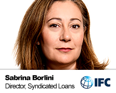 Sabrina Borlini, Global Director - Syndicated Loans and Mobilization, IFC